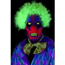 Festivalshop - Masker UV Blacklight Horror Clown Latex - SM46829