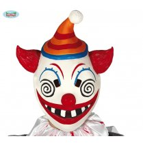 Festivalshop - Masker latex psycho horror clown - FG2258