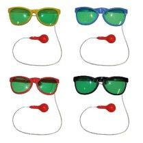 7ba4e1e8c7cfe9 Festivalshop - Maxi bril clown rood met waterspuit - 55 55002