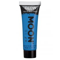 Festivalshop - Moon GID face & body paint blauw - SMM5564