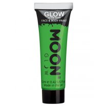 Festivalshop - Moon GID face & body paint groen - SMM5557