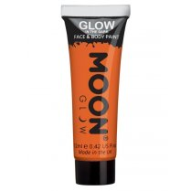 Festivalshop - Moon GID face & body paint oranje - SMM5526
