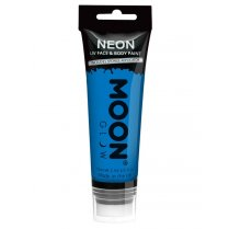 Festivalshop - Moon UV face & body paint blauw 75ml. - SMM5755