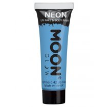 Festivalshop - Moon UV face & body paint pastel blauw - SMM5144