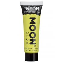 Festivalshop - Moon UV face & body paint pastel geel - SMM5120