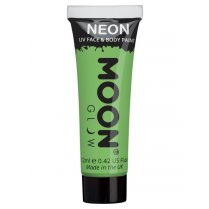 Festivalshop - Moon UV face & body paint pastel groen - SMM5137