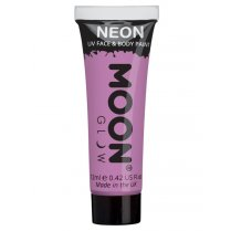 Festivalshop - Moon UV face & body paint pastel lila - SMM5151