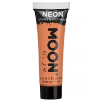 Festivalshop - Moon UV face & body paint pastel oranje - SMM5106