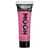 Festivalshop - Moon UV face & body paint pastel roze - SMM5090