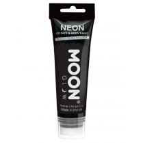 Festivalshop - Moon UV face & body paint zwart 75ml. - SMM5786