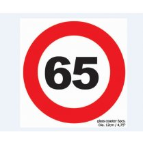 Festivalshop - Coaster traffic sign 65 - 84/84422