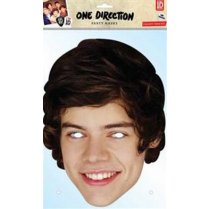 Festivalshop - One Direction Harry Styles Karton Maske - REHSTYL01