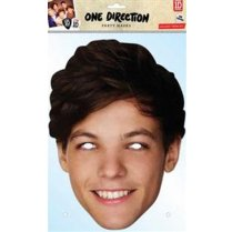 Festivalshop - One Direction Louis Masque en Carton - RELTOMLI01