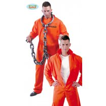 Festivalshop - Coveralls Prisoner convict orange - FG84688