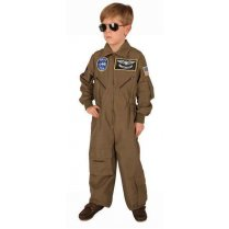 Festivalshop - Overall fighter pilot child khaki - FA44209