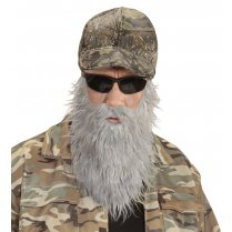 Festivalshop - Pet Hunter with Gray Beard and Mustache - WD74606