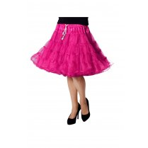 Festivalshop - Petticoat Luxe Half Lang Pink one size - WI4391F