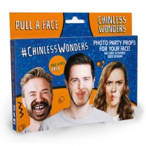 Festivalshop - Photo party props Chinless Wonders face - RECWPAF01