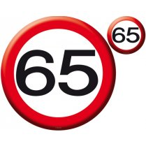 Festivalshop - Placemat Roadsign 65 years - 05286