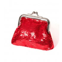 Festivalshop - Poppetone Paillettes with clip Red - WI48966