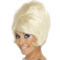 Festivalshop - Pruik 60′s Rock and Roll Beehive Blond - SM42273