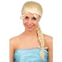 Festivalshop - Wig Blond Emely with long braid - FA39511D