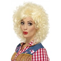 Festivalshop - Pruik rodeo Dolly blond - SM45167