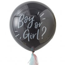 Festivalshop - Reuze Gender Reveal Confetti Ballon - GROB115