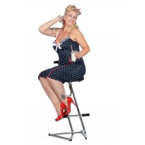 Festivalshop - Rockabilly 50′s dress Anchors away navy - WI320407