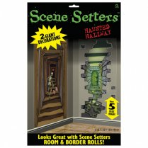 Festivalshop - Scene setter skelet haunted hallway - AM672124