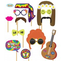 Festivalshop - Assortiment Photocall pour Hippy 12pc - FG7204