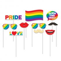 Festivalshop - Set photo booth props rainbow pride - WBPC332883