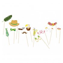 Festivalshop - Set photo booth props tropical - CH1421