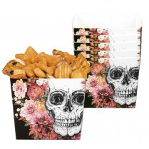 Festivalshop - Snoep-of snack bakjes Day of the dead - BO97079