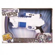 Festivalshop - Space Gun White / Blue with Sound - FA43195