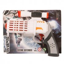 Festivalshop - Space Gun White / Orange Small with Soun - FA43194