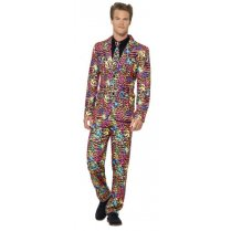 Festivalshop - Stand Out Suit Fluo Neon Oppo - SM41585