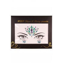 Festivalshop - Strass steentjes face and body jewels H - PX18207