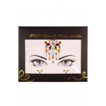 Festivalshop - Strass steentjes face and body jewels J - PX18209