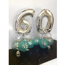 Festivalshop - Table gift balloon with number or letter - FSBD0033
