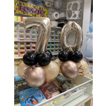 Festivalshop - Table gift balloon with number - FSBD0057