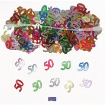 Festivalshop - Table decoration / confetti 50 years - FO05316
