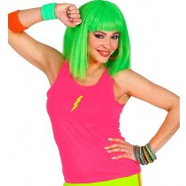 Festivalshop - Tank top neon pink one size - WD01445