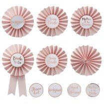 Festivalshop - Team Bride Set Badges - GRTB602