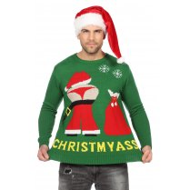 Festivalshop - Ugly Christmas sweater Christmyass - WI7831