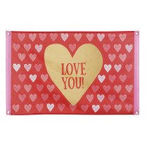Festivalshop - Flag polyester Love You 90x60cm - BO48001