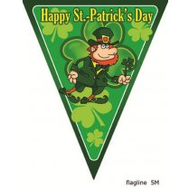 Festivalshop - Flaggenlinie St. Patrick′s Day 5 mtr - 84/84373