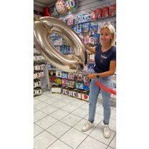 Festivalshop - Foil balloon filling 102cm with Helium - FSBD0016