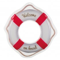 Festivalshop - Wanddecoratie Navy ′Welcome on board′ - BO44384