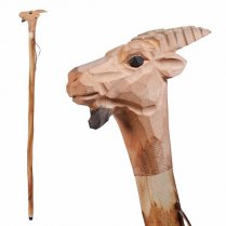 Festivalshop - Alpine cane walking stick with goathead - THT31001300